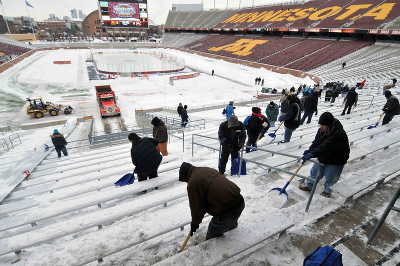 BIG10: Gophers Below-zero Wind Chill Forecast For TCF Bank Stadium Today