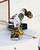 Minnesota goalie Adam Wilcox makes a save in the final period. (AP Photo/Janet Hostetter)