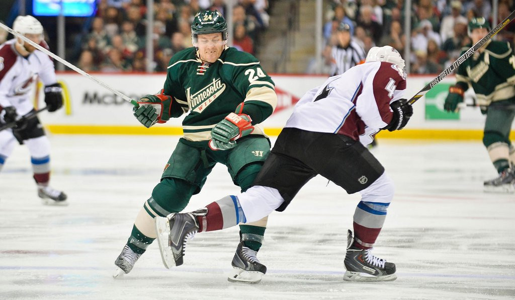 ". <p><b> Suspended Wild enforcer Matt Cooke, after his Game 3 cheap shot on Tyson Barrie, said he was �disappointed and sorry� that the Colorado defenseman � </b> <p> A. Would miss the rest of the series <p> B. Suffered a serious knee injury <p> C. Lived <p><b><a href=\'http://www.twincities.com/sports/ci_25630005/wilds-matt-cooke-apologizes-injuring-tyson-barrie\' target=""_blank\""> LINK </a></b> <p>    (Pioneer Press: Ben Garvin)"
