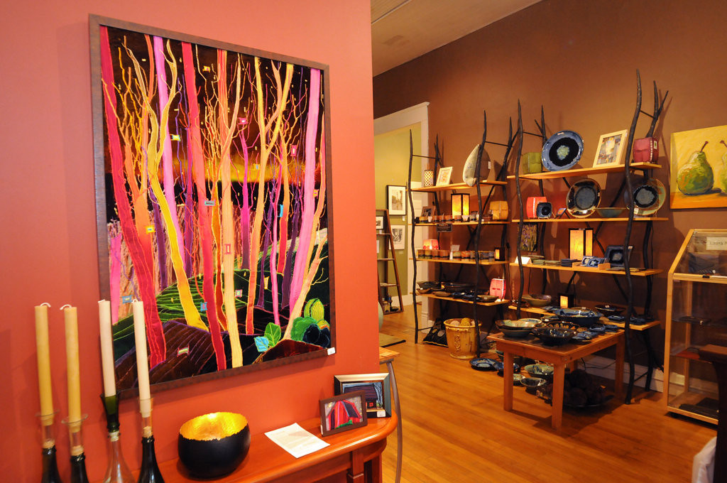 . Abode Gallery offers a wide selection of art representing local and regional artists at 2030 Spring Street in Stockholm, Wisconsin. (Pioneer Press: Ginger Pinson)