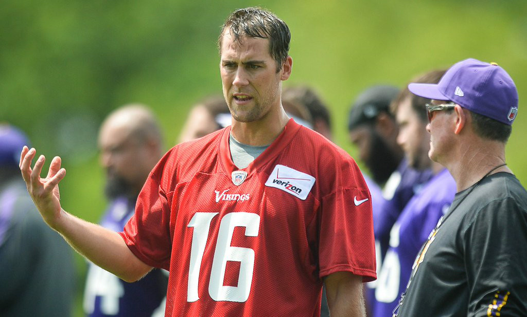 . 16. MATT CASSEL <p>Heightened scrutiny on Vikings should have no effect on his ability to suck this season.  </p><p>    (Pioneer Press: Ben Garvin)</p>