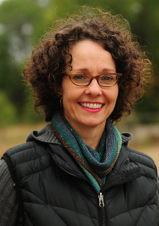 """. Tracy Sides, the winner of the million dollar \""""Forever St. Paul Challenge,\"""" hopes to create an \""""urban oasis,\"""" a center to promote and handle locally produced food, in St. Paul\'s Bruce Vento Nature Sanctuary. (Pioneer Press: Scott Takushi)"""