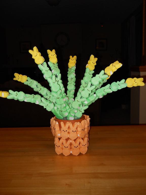 ". \""Pot of Peepodils,\"" by Joan Hause, Lake Elmo"