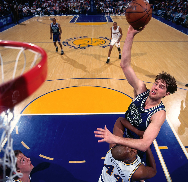 . 3. 1992: No. 3 Christian Laettner, No. 28 Marlon Maxey, No. 34 Chris Smith, No. 51 Tim Burroughs.  Despite being a major disappointment, Laettner still was good enough for this draft to be ranked in the top three. That says everything about the Wolves� drafts over the years. Imagine how the team�s history would have changed had it landed top pick Shaquille O�Neal or No. 2 Alonzo Mourning. The Wolves had the best chance to win the lottery after finishing with the league�s worst record in 1991-92. Laettner never lived up to the high expectations befitting the only college player on the 1992 Olympic Dream Team after a memorable Duke career. Still, he averaged a respectable 17 points and eight rebounds in four seasons at Minnesota. Maxey and Smith were reserves for the Wolves.