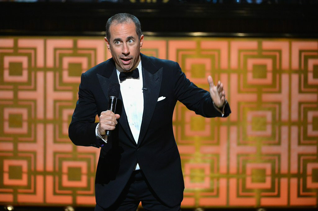 ". 5. JERRY SEINFELD <p>What�s the deal with the Hamptons idiot parking on top of his million-dollar Porsche? (unranked) </p><p><b><a href=""http://pagesix.com/2014/08/19/jerry-seinfeld-unleashes-road-rage-in-hamptons/\"" target=\""_blank\""> LINK </a></b> </p><p>   (Theo Wargo/Getty Images for Spike TV)</p>"