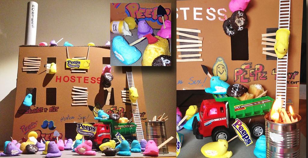 """. \""""Hostile Hostess Takeover: Don\'t Get Mad, Get Eaten,\"""" by Jessie Garretson, Edina"""