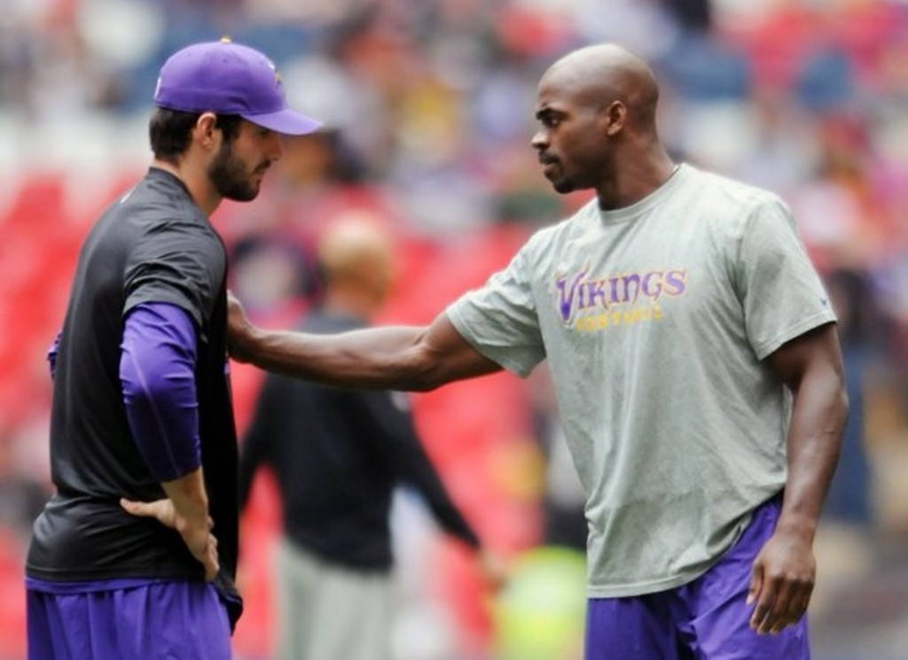 """. <p>10. (tie) CHRISTIAN PONDER <p>Get well soon � soon after the season ends. (unranked) <p><b><a href=\'http://www.twincities.com/vikings/ci_24188183/vikings-christian-ponder-not-practicing-friday-matt-cassel\' target=\""""_blank\""""> HUH?</a></b> <p>    (Pioneer Press: Chris Polydoroff)"""