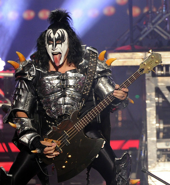 ". <p><b> KISS front man Gene Simmons caused outrage and threats of a boycott when he said these people should just go kill themselves � </b> </p><p> A. Depressed, suicidal people </p><p> B. The terminally ill </p><p> C. KISS fans </p><p><b><a href=""http://www.huffingtonpost.com/2014/08/15/gene-simmons-depression_n_5681477.html\"" target=\""_blank\"">LINK</a></b> </p><p>   (Kevin Winter/Getty Images)</p>"