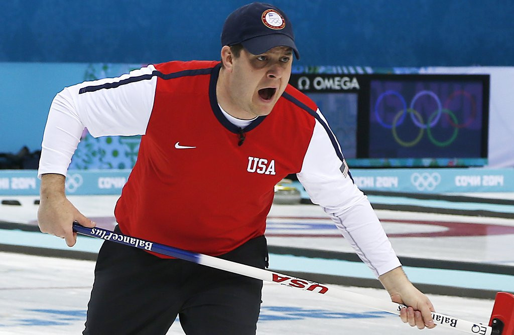 """. <p>10. (tie) U.S. CURLERS  <p>Swept aside at Olympics. (See what we did there?) (previous ranking: unranked) <p><b><a href=\'http://dfm.twincities.com/article/olympics-us-curling-teams-eliminated/5f4e4e1454ec6746ea54d2a1599ad8b5\' target=\""""_blank\""""> HUH?</a></b> <p>    (AP Photo/Wong Maye-E)"""