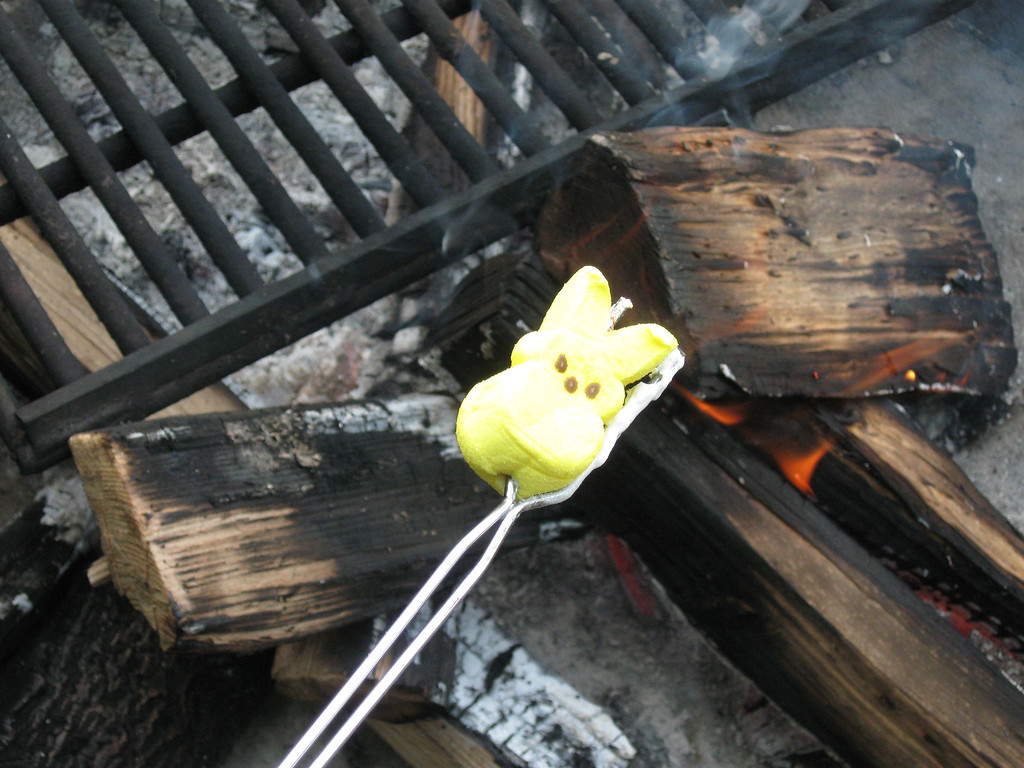 ". ""Roasting Peeps,\"" by Diane Brandt, Sioux Falls, S.D."
