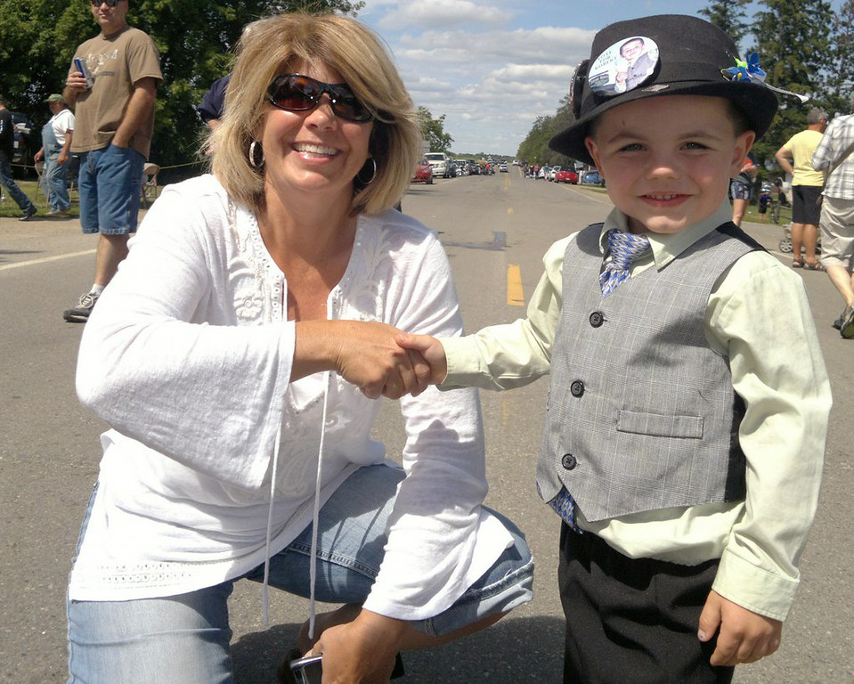 """. 10. (tie) BOBBY TUFTS <p>For defeated 5-year-old mayor, kindergarten will be a step up from politics. (previous ranking: unranked) </p><p><b><a href=\""""http://www.twincities.com/localnews/ci_26275732/towns-5-year-old-mayor-loses-re-election\"""" target=\""""_blank\""""> LINK</a></b> </p><p>    (AP Photo/Courtesy Tufts Family)</p>"""