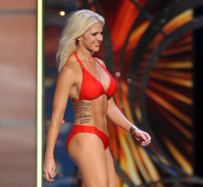 """. <p>3. TATTOOS <p>Ugly. Always. No exceptions. (unranked) <p><b><a href=\'http://www.kansascity.com/2013/09/11/4474610/miss-kansas-shows-tattoos-at-miss.html\' target=\""""_blank\""""> HUH?</a></b> <p>    (AP Photo/The Press of Atlantic City, Edward Lea)"""