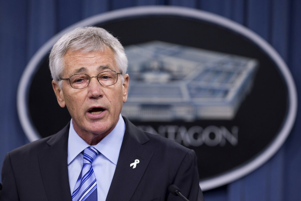 """. 4. (tie) CHUCK HAGEL <p> After further review, swapping five terrorists for a deserter was NOT the brilliant idea of the commander in chief. (unranked) <p><b><a href=\'http://thehill.com/blogs/blog-briefing-room/208803-obama-shifting-blame-for-bergdahl-trade-to-hagel\' target=\""""_blank\""""> LINK </a></b> <p>   (AP Photo/Manuel Balce Ceneta)"""