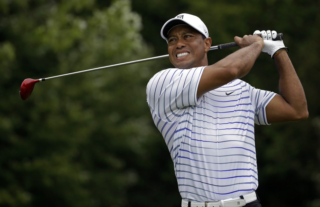 ". 2. TIGER WOODS <p>Removes himself from Ryder Cup consideration so Tom Watson doesn�t have to. (unranked) </p><p><b><a href=""http://www.latimes.com/sports/la-sp-tiger-woods-dwyre-20140814-column.html\"" target=\""_blank\""> LINK </a></b> </p><p>   (AP Photo/Jeff Roberson)</p>"