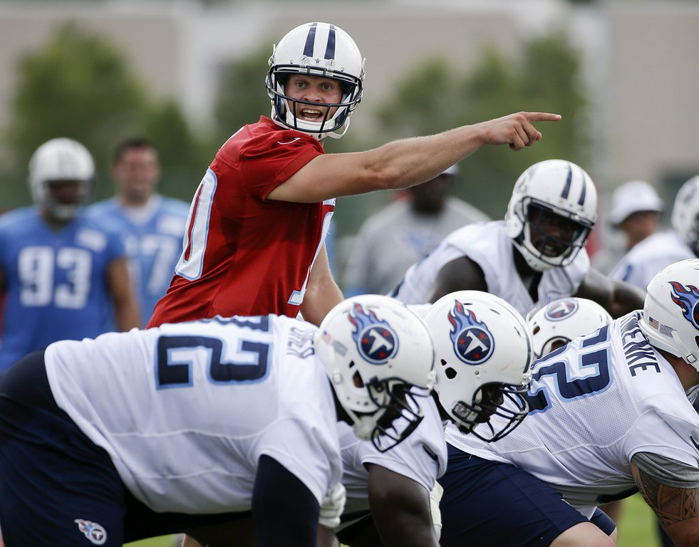 ". <p><b>TENNESSEE TITANS</b> </p><p><i>�Who Are These Guys?�</i> </p><p>Is this team a secret juggernaut? </p><p>Or just a forgotten imposter? </p><p>We do know for certain that you cannot </p><p>Name more than three dudes on their roster <br></p><p>PREDICTION: <b>8-8 � Second place in AFC South </b> </p><p><b><a href=""http://www.usatoday.com/story/sports/nfl/titans/2014/08/25/jake-locker-tennessee-titans-ken-whisenhunt/14593611/\"" target=\""_blank\""> LINK </a></b> </p><p>    (AP Photo/Mark Humphrey)</p>"