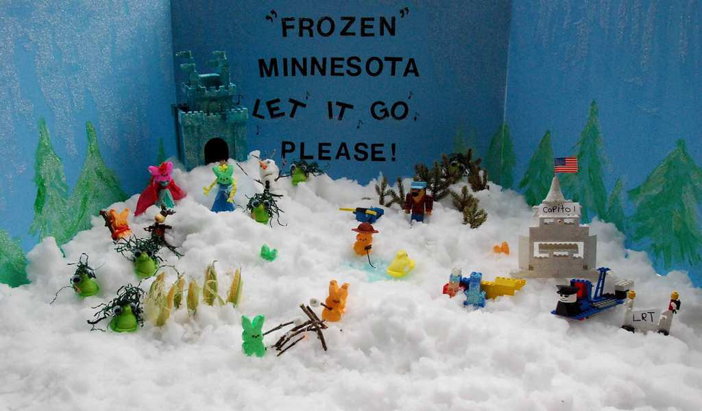 ". ""Frozen Minnesota,\"" by Kelly Staples"