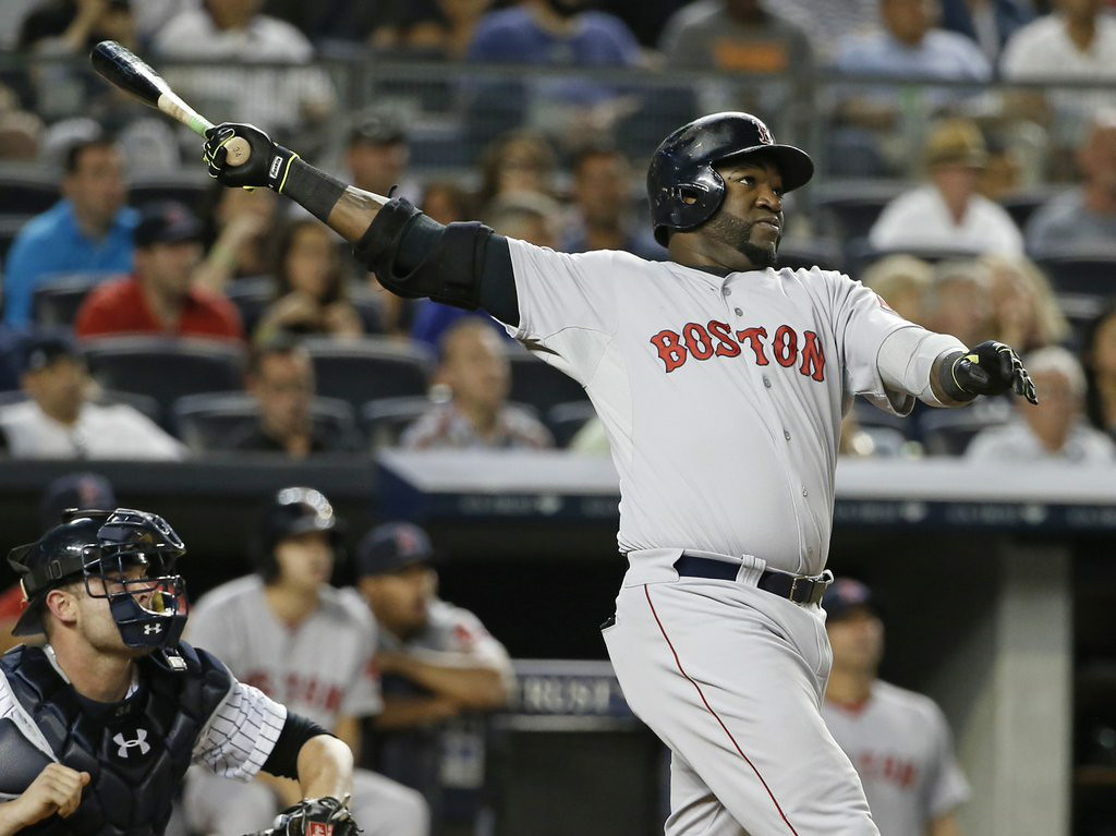 """. 8. DAVID ORTIZ <p>Big Papi believes if he protests too much, people might forget his failed drug test. (unranked) <p><b><a href=\'http://www.boston.com/sports/baseball/redsox/extras/extra_bases/2014/07/david_ortiz_calls_bull_on_his_getting_a_free_pass.html\' target=\""""_blank\""""> LINK </a></b> <p>    (AP Photo/Kathy Willens)"""