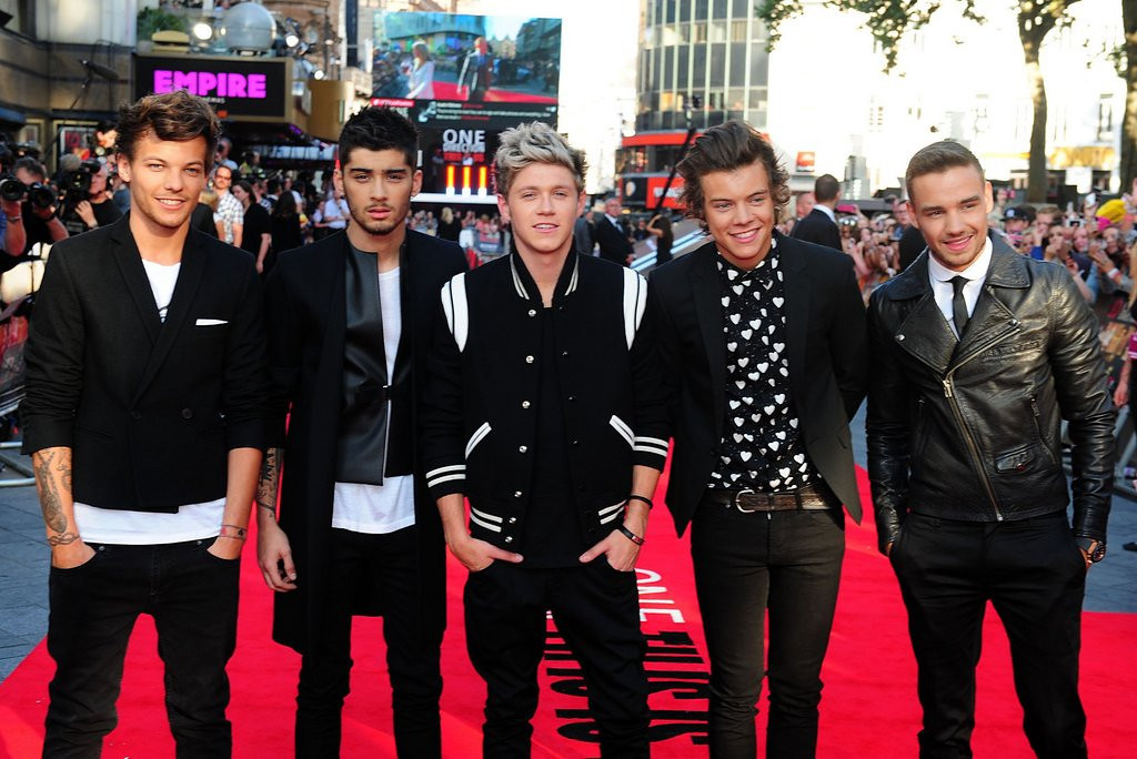 ". <p><b> Fans of England�s top boy band were shocked and appalled last week after the release of a video that showed One Direction � </b> <p> A. Smoking marijuana <p> B. Drinking alcohol <p> C. Making out with OneRepublic <p><b><a href=\'http://www.latimes.com/entertainment/music/posts/la-et-ms-one-direction-video-pot-marijuana-peru-tour-20140528-story.html\' target=""_blank\"">LINK</a></b> <p>   <br> <p><b>ANSWERS</b> <p> The correct answer is always \""A\"" ... unless you feel very strongly otherwise. <p> <br><p> You can follow Kevin Cusick at <a href=\'http://twitter.com/theloopnow\'>twitter.com/theloopnow</a>.   (Ian West/PA Wire)"