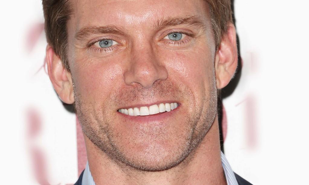 . Actor Adam Harrington is 43. (Getty Images: Frederick M. Brown)