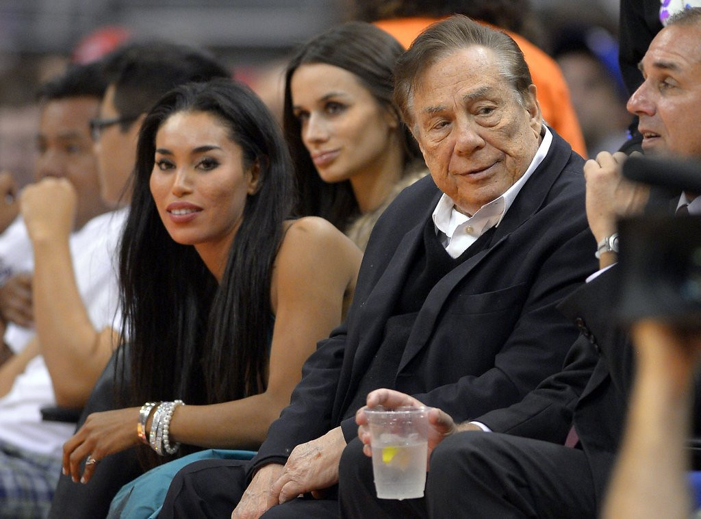 ". <p><b> Los Angeles Clippers owner Donald Sterling, who was caught on tape making racist statements, received the harshest possible penalty when the NBA gave him a lifetime ban from � </b> <p> A. Having any role with the Clippers <p> B. Attending NBA games <p> C. Paying for sex <p><b><a href=\'http://www.twincities.com/sports/ci_25652031/donald-sterling-clippers-owners-fate-adam-silvers-hands\' target=""_blank\""> LINK </a></b> <p>    (AP Photo/Mark J. Terrill)"