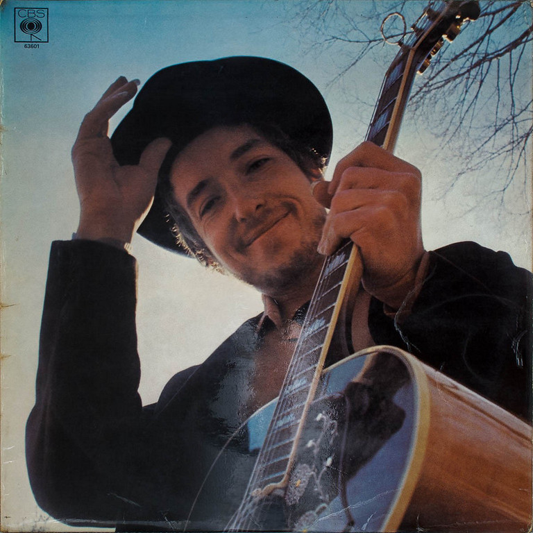 """. The cover of Dylan\'s 1969 album \""""Nashville Skyline\"""""""