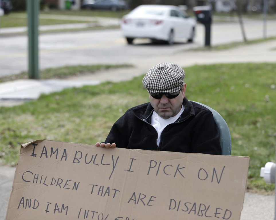 """. <p>4. (tie) BULLIES <p>Looks like we�ll need some new laws to protect them from discrimination. (unranked) <p><b><a href=\'http://www.twincities.com/localnews/ci_25548871/joe-soucheray-new-anti-bullying-bill-seems-more?source=hottopics\' target=\""""_blank\""""> HUH?</a></b> <p>    (AP Photo/Tony Dejak)"""