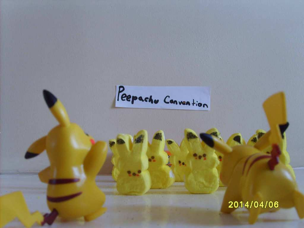". ""Peepachu Convention,\"" by Amy Bohland"