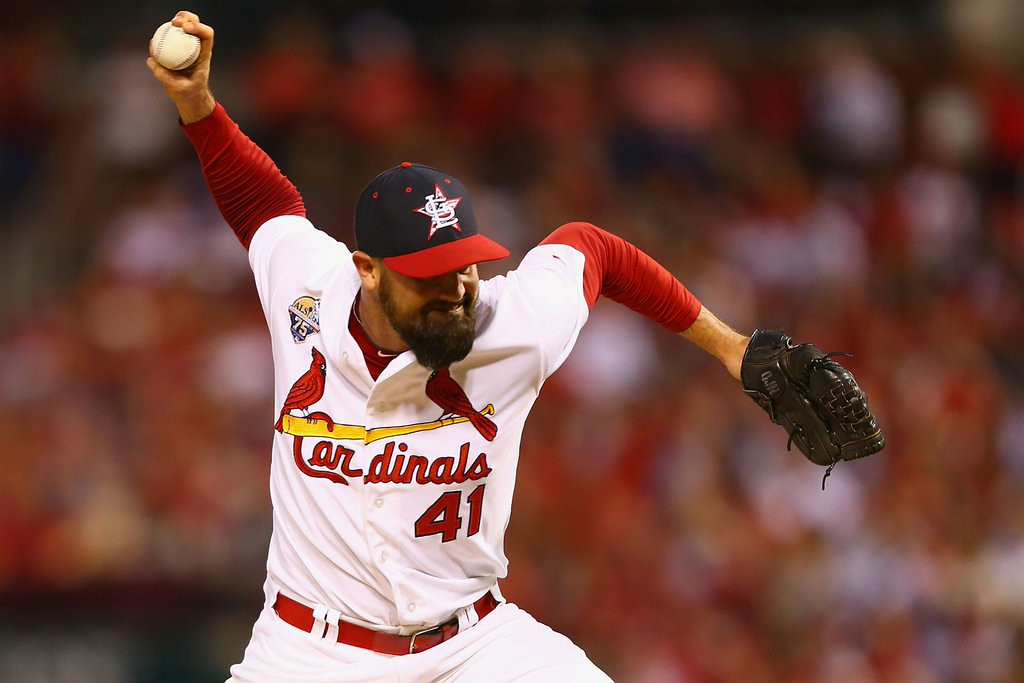 """. <p><b> Many Twins fans were shocked to learn Sunday that former reliever Pat Neshek was � </b> <p> A. Named to the National League all-star team <p> B. Taking over closer duties for St. Louis <p> C. Still pitching in the big leagues <p><b><a href=\'http://www.twincities.com/twins/ci_26100132/pat-neshek-park-center-grad-and-ex-twin\' target=\""""_blank\"""">LINK</a></b> <p>    (Dilip Vishwanat/Getty Images)"""