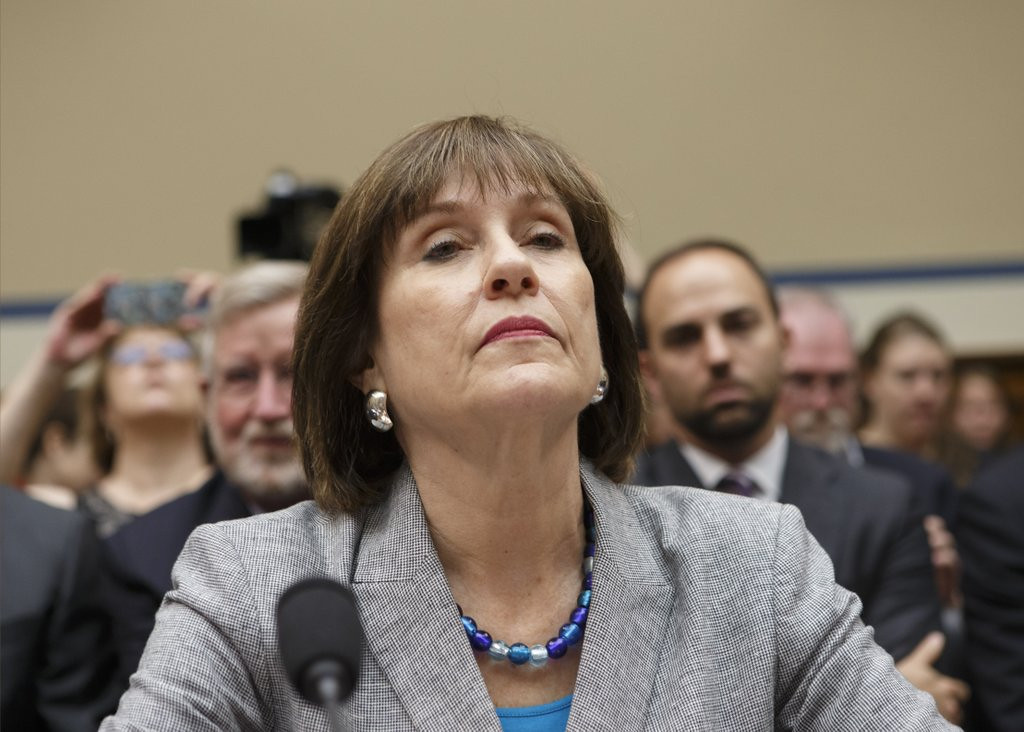 """. <p>4. INTERNAL REVENUE SERVICE <p>Expect Lois Lerner to plead the Fifth, again, when asked why tax-cheating employees got BONUSES. (unranked) <p><b><a href=\'http://www.usatoday.com/story/news/politics/2014/04/22/irs-bonuses-employees-delinquent-taxes/8012195/\' target=\""""_blank\""""> LINK </a></b> <p>    (AP Photo/J. Scott Applewhite, File)"""