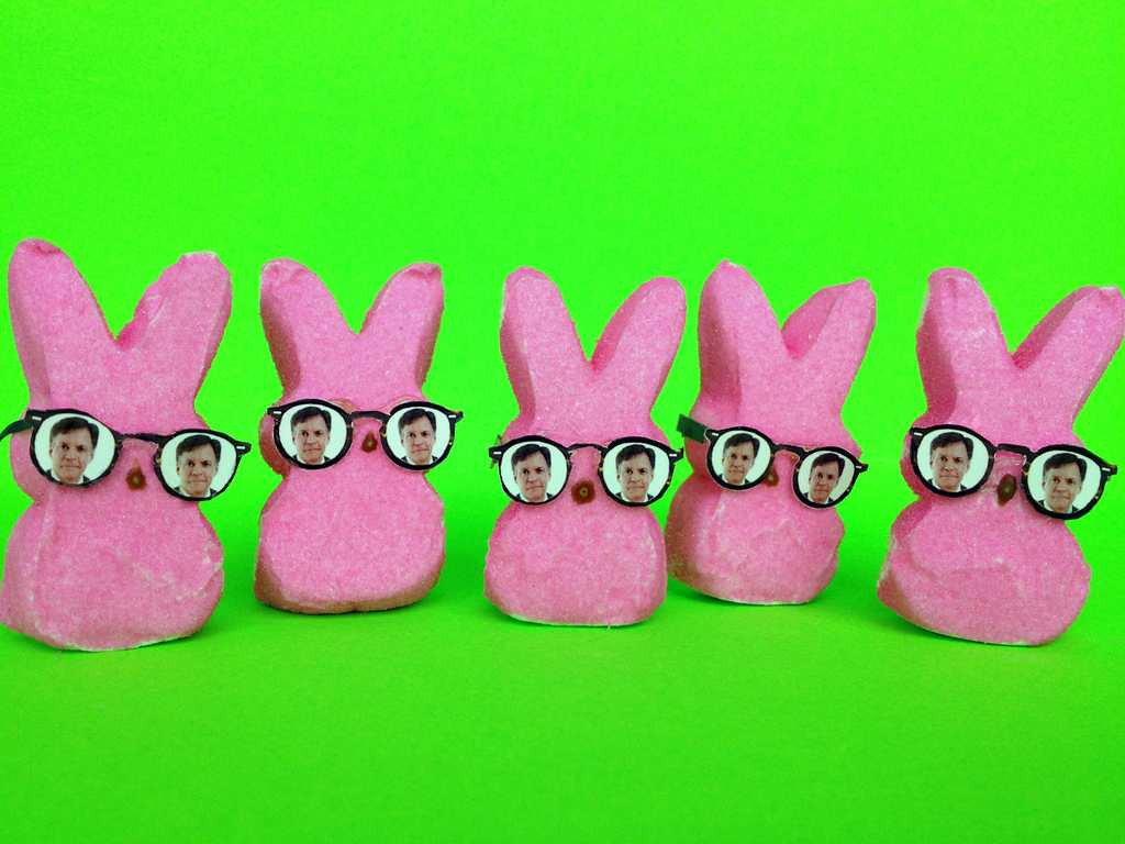 ". ""Pink Peeps got Costas Eye,\"" by Ron Young of Shoreview"