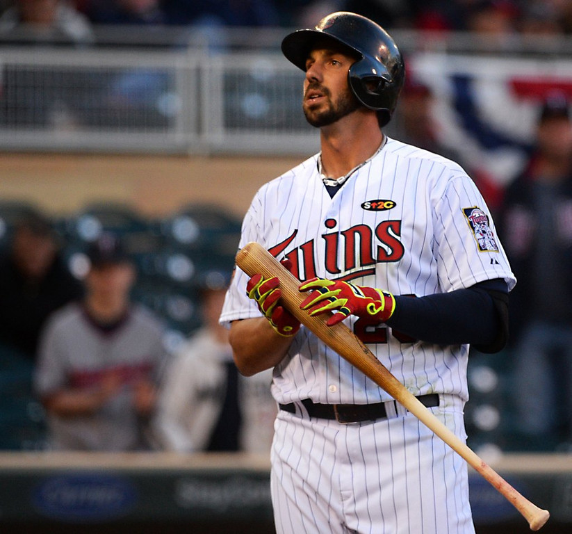 ". 4. (tie) CHRIS COLABELLO <p>Demoted Twin has had so few hits recently, fans started calling him Nickelback. (unranked) <p><b><a href=\'http://www.twincities.com/twins/ci_25835047/twins-send-rbi-leader-chris-colabello-triple\' target=""_blank\""> LINK </a></b> <p>   (Pioneer Press: John Autey)"