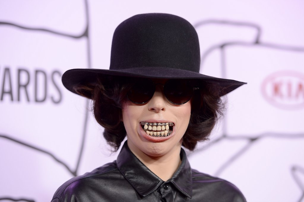 """. <p>9. LADY GAGA <p>Was she �Born This Way,� or did she only recently start playing with puke? (3) <p><b><a href=\'http://www.thewire.com/entertainment/2014/03/demi-lovato-puke-shames-and-coming-puke-artist-lady-gaga/359230/\' target=\""""_blank\""""> HUH?</a></b> <p>    (Dimitrios Kambouris/Getty Images)"""
