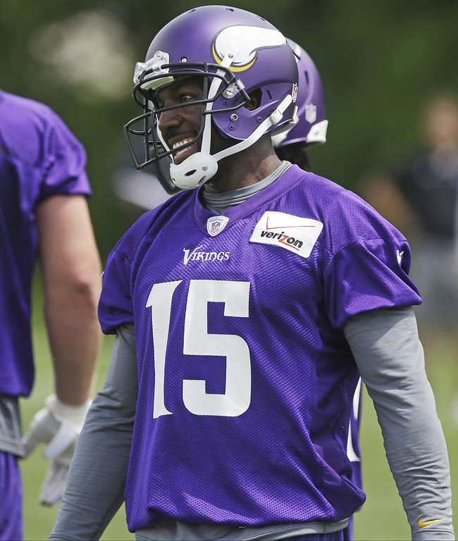 ". <p><b> New Vikings receiver Greg Jennings says that he was subjected to years of brainwashing in Green Bay that left him convinced that � </b> <p> A. The Packers are the greatest team in the world  <p> B. Wisconsin is paradise  <p> C. He can ignore whatever Leslie Frazier says  <p>  (AP Photo/Jim Mone) <p><b><a href=\'http://www.twincities.com/sports/ci_23828396/greg-jennings-brainwashed-packers-store-giving-away-his\' target=""_blank\""> HUH?</a></b>"
