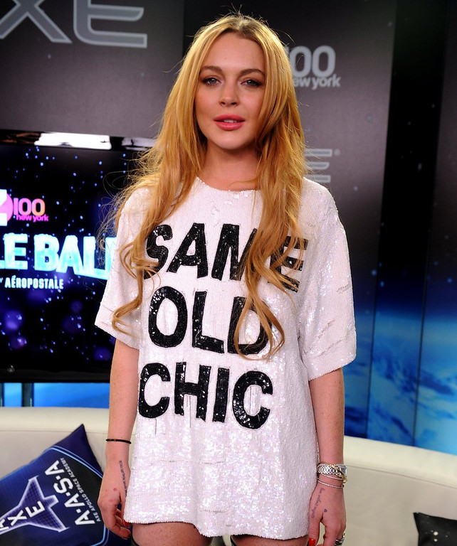 """. <p>3. LINDSAY LOHAN <p>Her list of former lovers exceeded only by her list of social diseases. (unranked) <p><b><a href=\' http://nymag.com/thecut/2014/03/list-of-people-lindsay-lohan-had-sex-with.html\' target=\""""_blank\""""> HUH?</a></b> <p>    (Brad Barket/Getty Images for Clear Channel)"""