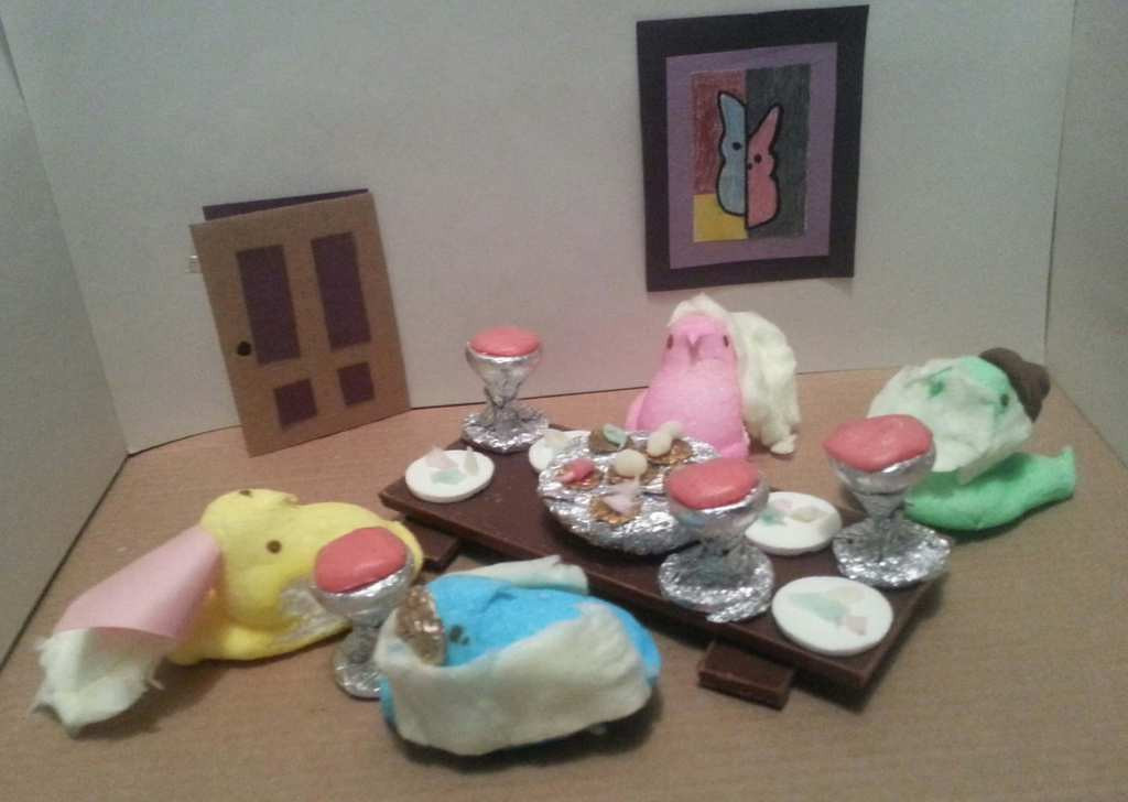 ". ""Happy Peepsover,\"" by Suzanne Butler"