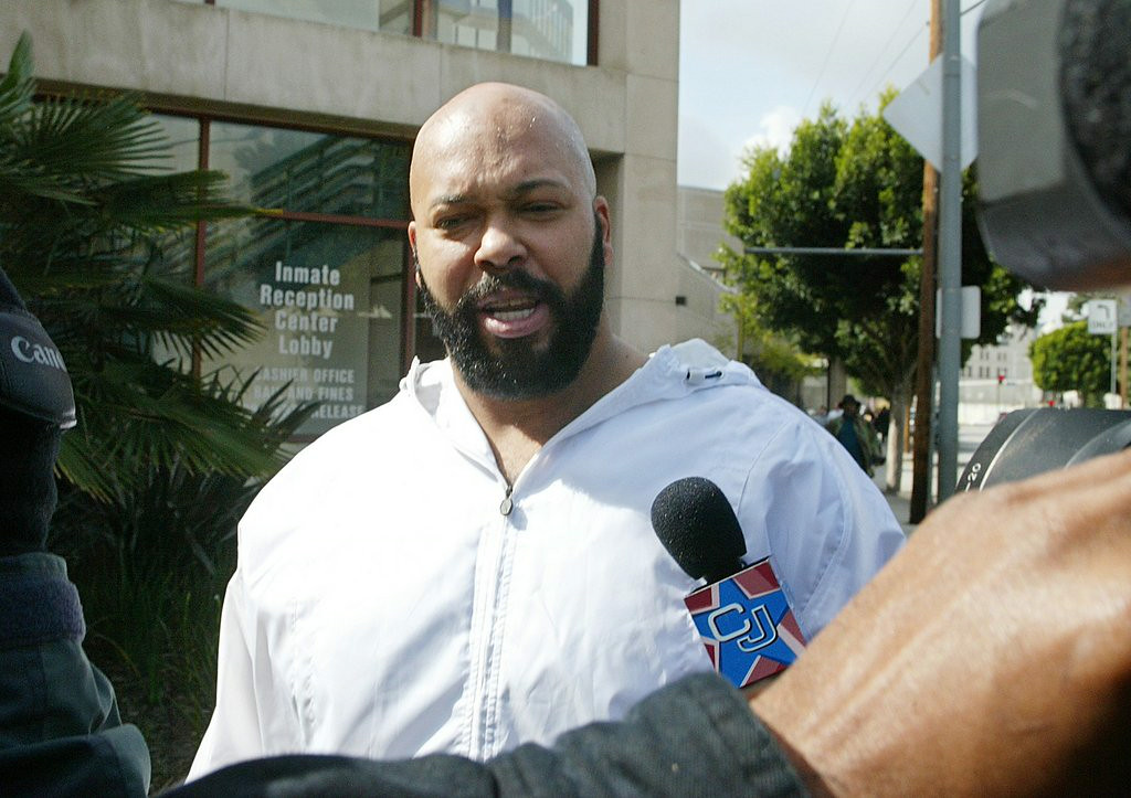 ". 5. SUGE KNIGHT <p>Not so great being on the other side of those bullets, is it? (unranked) </p><p><b><a href=""http://radaronline.com/exclusives/2014/08/suge-knight-shooting-gang-members-accused-murder-tupac-traitor/\"" target=\""_blank\""> LINK </a></b> </p><p>    (AP Photo/Damian Dovarganes)</p>"