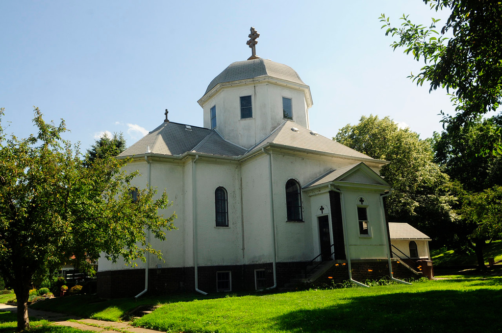 """. St. Stefan\'s Romanian Orthodox Church, which is included on the National Register of Historic Places, is  part of a tour of the historic \""""Pill Hill\"""" section of South St. Paul this coming weekend. (Pioneer Press: Scott Takushi)"""