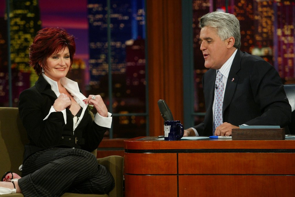 """. <p>8. SHARON OSBOURNE & JAY LENO <p>They had a �little fling� before she settled on the much more stable Ozzy. (10) <p><b><a href=\'http://www.usatoday.com/story/life/people/2013/09/10/sharon-osbourne-reveals-secret-fling-with-jay-leno/2793503/\' target=\""""_blank\""""> HUH?</a></b> <p>    (Kevin Winter/Getty Images)"""