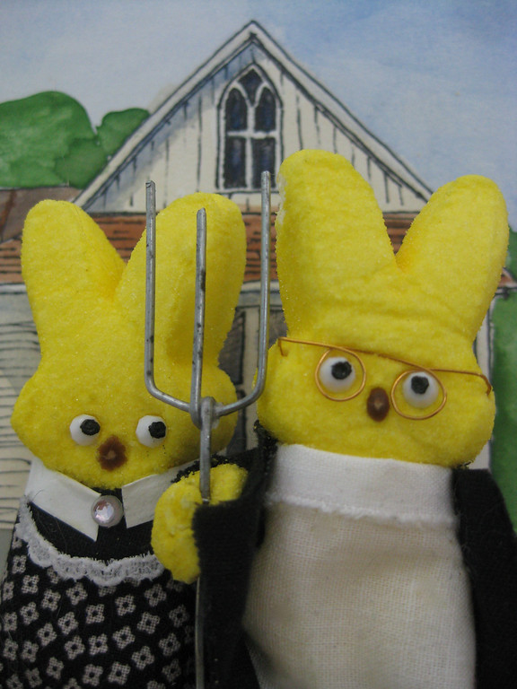 """. <b>HONORABLE MENTION:</b> \""""American Gothic,\"""" by Nina Fan, Falcon Heights"""