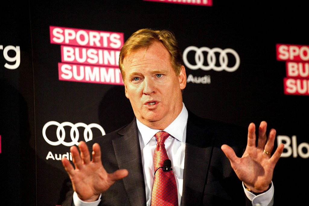 . 12. ROGER GOODELL <p>Happy to deal with ANYTHING that doesn�t involve the word Redskins.  </p><p>   (Michael Nagle/Bloomberg)</p>
