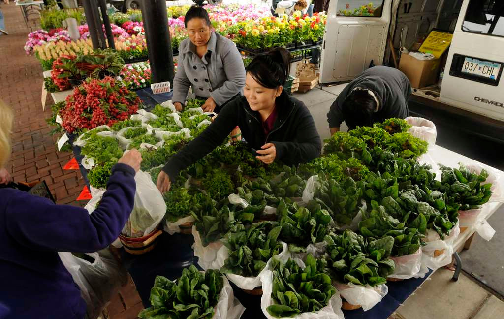 . You betcha, I must wander around the St. Paul Farmers� Market nearly every weekend until it gets cold, spending a fistful of cash on fresh vegetables I�ll figure out what to do with later. <p>-- By food writer Jess Fleming <p>-- Photo by Scott Takushi, Pioneer Press