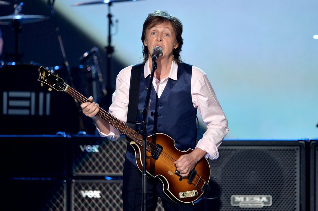 ". <p><b> Former Beatles great Paul McCartney made headlines on Monday when he was able to do this in only 20 minutes � </b> <p> A. Sell out his Target Field concert <p> B. Sign 1,000 copies of his new album <p> C. His daily Just for Men coloring <p><b><a href=\'http://www.twincities.com/entertainment/ci_25653752/concert-news-mccartney-show-at-target-field-sells\' target=""_blank\""> LINK </a></b> <p>     (Kevin Winter/Getty Images)"