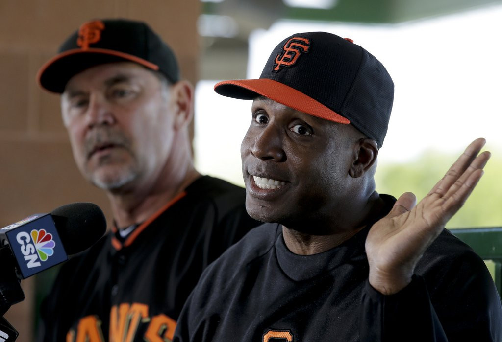 ". <p>8. (tie) BARRY BONDS <p>We�re betting his head isn�t the only thing that�s shrunk dramatically. (7) <p><b><a href=\'http://www.sportsgrid.com/mlb/barry-bonds-is-now-fun-sized-back-with-giants-as-hitting-coach/\' target=""_blank\""> HUH?</a></b> <p>    (AP Photo/Chris Carlson)"