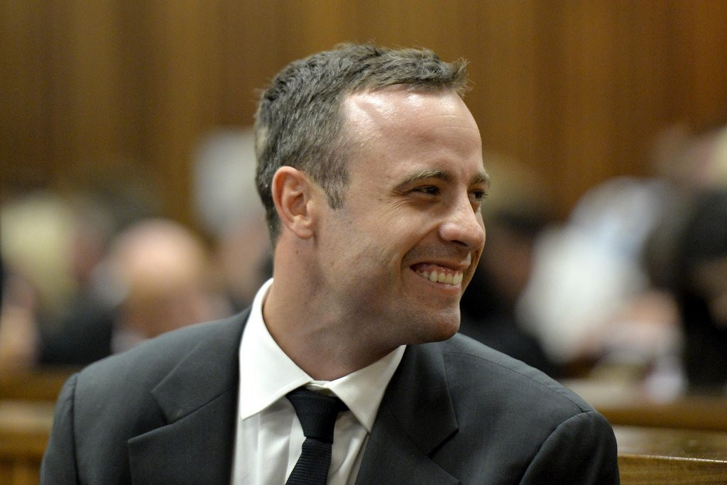 ". <p>4. OSCAR PISTORIUS <p>Trial testimony indicates he might not have any eardrums, either. (10) <p><b><a href=\'http://www.twincities.com/sports/ci_25263412/oscar-pistorius-pleads-not-guilty-at-start-murder\' target=""_blank\""> HUH?</a></b> <p>   (AP Photo/Herman Verwey Media24-Pool)"