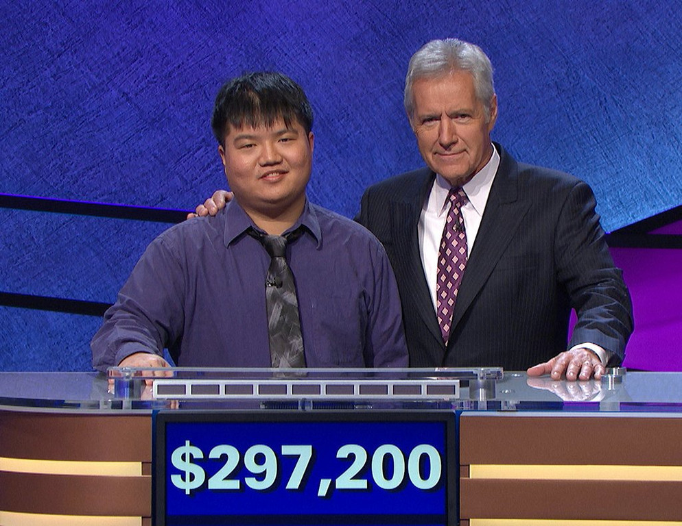 """. <p>10. (tie) ARTHUR CHU <p>�Who is Jeopardy�s most insufferable know-it-all?� (previous ranking: unranked) <p><b><a href=\' http://www.twincities.com/nation/ci_25332235/jeopardy-champ-chu-ousted-after-12-day-run?source=rss\' target=\""""_blank\""""> HUH?</a></b> <p>    (AP Photo/Jeopardy Productions, Inc.)"""