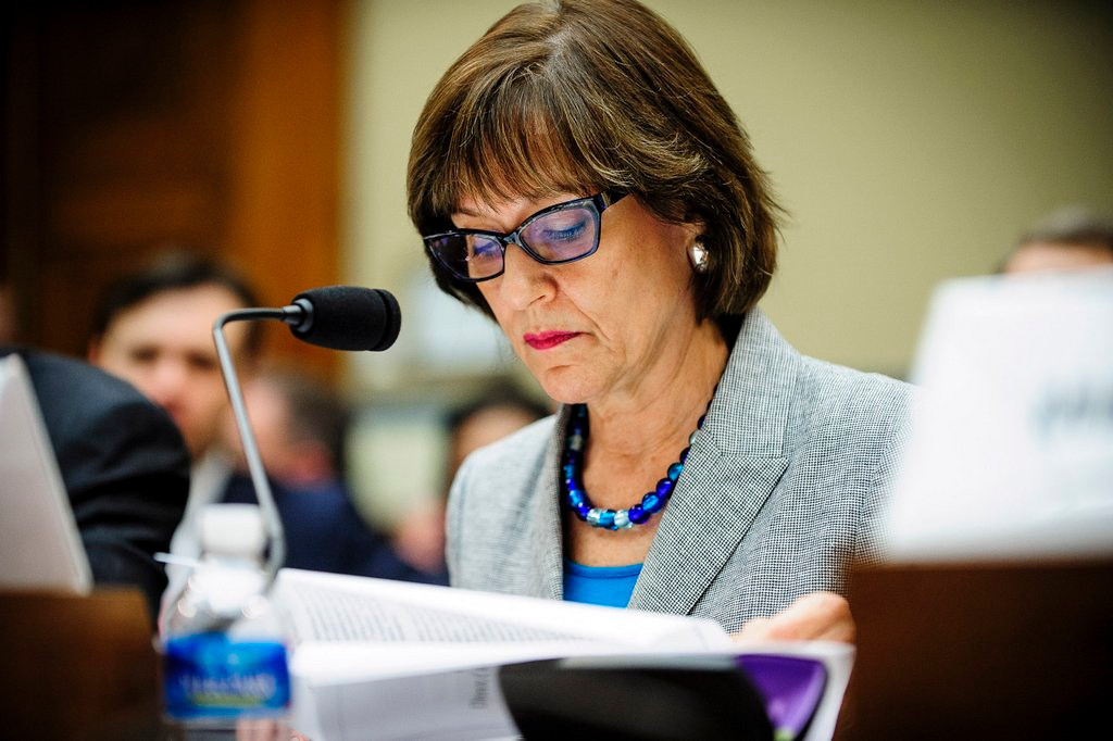 ". <p>7. (tie) LOIS LERNER <p>IRS just happened to target every political group to the right of Karl Marx. (unranked) <p><b><a href=\'http://www.twincities.com/business/ci_25536221/house-panel-hold-contempt-vote-irs-official\' target=""_blank\""> HUH?</a></b> <p>   (Pete Marovich/Bloomberg)"