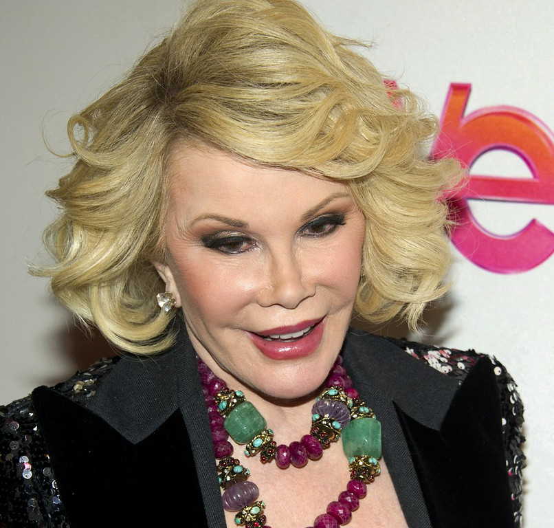 ". 10. (tie) JOAN RIVERS <p>�I�m 81 � I could go at any moment!� (previous ranking: unranked) </p><p><b><a href=""http://www.nydailynews.com/entertainment/gossip/joan-rivers-joked-death-day-surgery-scare-article-1.1920231\"" target=\""_blank\""> LINK</a></b> </p><p>    (AP Photo/Charles Sykes)</p>"