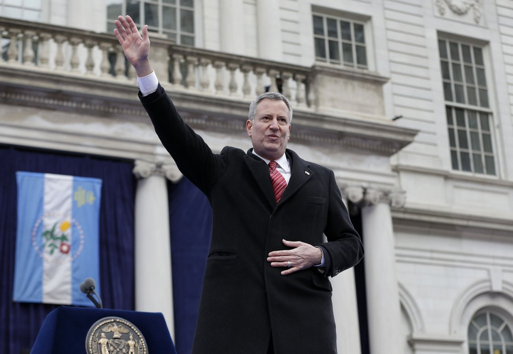 ". <p>7. (tie) BILL DE BLASIO <p>After listening to their new Marxist mayor, New Yorkers starting to think that little Weiner wasn�t so bad after all.   <p><b><a href=\'http://www.twincities.com/national/ci_24827449/bill-de-blasio-sworn-109th-mayor-nyc?source=rss\' target=""_blank\""> HUH?</a></b> <p>    (AP Photo/Seth Wenig)"