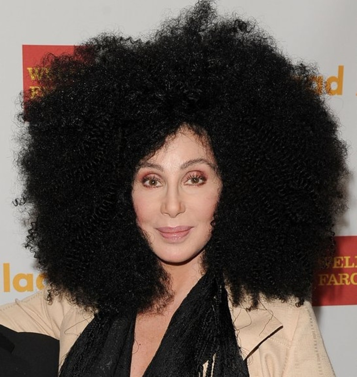 """. <p>8. CHER <p>Her torching of Miley Cyrus shows she hasn�t quite mastered the whole �glass houses� concept. (10) <p><b><a href=\'http://www.usatoday.com/story/life/music/2013/09/17/cher-blasts-miley-cyrus-for-bad-dancing-bad-tune-bad-oral-hygiene/2829215/\' target=\""""_blank\""""> HUH?</a></b> <p>    (Jason Merritt/Getty Images for GLAAD)"""