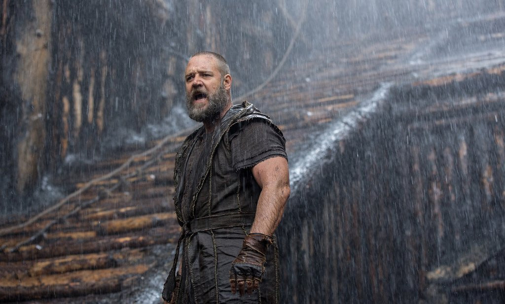 """. <p>7. (tie) �NOAH� <p>The fact that this Noah does no singing is proof of a kind and merciful God. (9) <p><b><a href=\'http://www.twincities.com/movies/ci_25427753/noahs-ark-review-world-is-broken-and-god\' target=\""""_blank\""""> HUH?</a></b> <p>    (AP Photo/Paramount Pictures, Niko Tavernise)"""